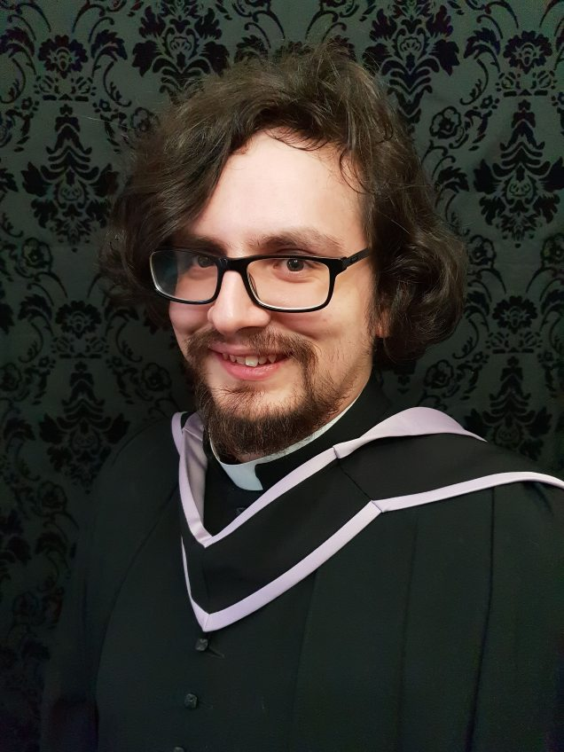 January 2019 I Graduated from St John's College, Durham with an MA in Theology and Ministry
